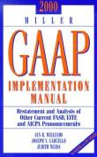 Miller Gaap Implementation Manual 2000