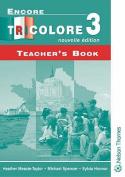 Encore Tricolore Nouvelle 3 Teacher's Book
