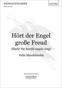 Hoert der Engel grosse Freud (Hark! the herald-angels sing)