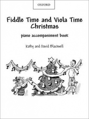 Fiddle Time and Viola Time Christmas: Piano Book (Fiddle Time)
