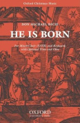 He is born: Vocal score