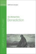 Benediction: Vocal score