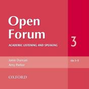 Open Forum 3: Audio CDs (3) [Audio]