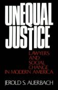 Unequal Justice