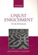 Unjust Enrichment in Australia