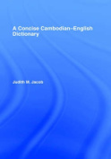 A Concise Cambodian-English Dictionary