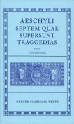 Aeschylus Tragoediae