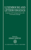 Luxembourg and Letzebuergesch