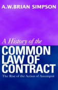 A History of the Common Law of Contract