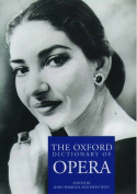 The Oxford Dictionary of Opera