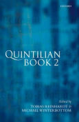 Quintilian Institutio Oratoria Book 2