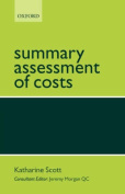 Summary Assessment of Costs