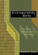 Distinguishing Words