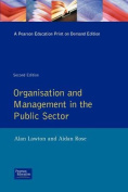 Organisation And Management In The Public Sector
