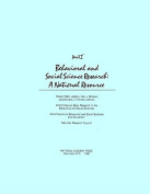 Behavioral and Social Science Research
