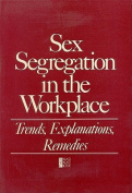 Sex Segregation in the Workplace