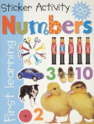 Numbers Sticker Activity [With Over 100 Stickers]
