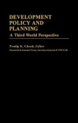 Development Policy and Planning