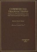 Adams' Commercial Transactions