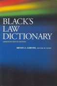 Black's Law Dictionary (Black's Law Dictionary