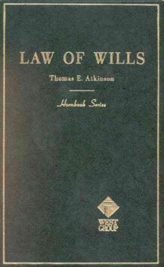Atkinson Handbk Law of Wills