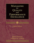 Managing for Quality and Performance Excellence with Student Web