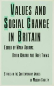 Values and Social Change in Britain