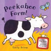 Peekaboo Farm! [Board book]