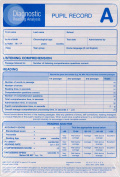 Diagnostic Reading Analysis Pupil Record Sheet A