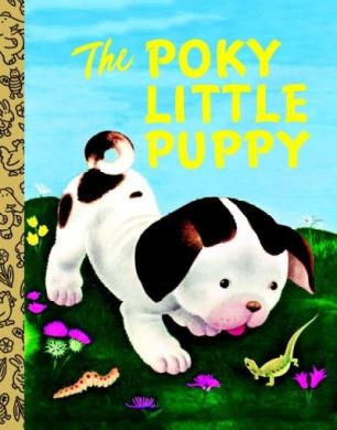 LGB Board Bk: The Poky Little Puppy [Board book]