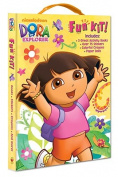 Dora the Explorer Fun Kit! [With Sticker(s) and Crayons and Punch-Out(s) and 3 Paperbacks]