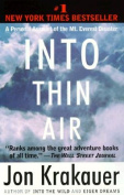 Random House 101950 Into Thin Air with Paperback by Jon Krakauer