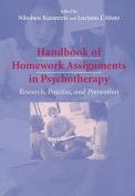Handbook of Homework Assignments in Psychotherapy