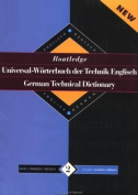 Routledge German Technical Dictionary