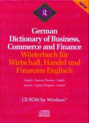 Routledge German Dictionary of Business, Commerce and Finance