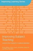 Improving Subject Teaching
