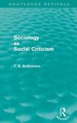 Sociology as Social Criticism