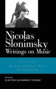 Writings on Music