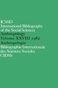 International Bibliography of the Social Sciences: In English and French