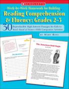 Week-By-Week Homework for Building Reading Comprehension & Fluency