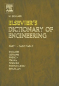 Elsevier's Dictionary of Engineering