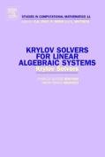 Krylov Solvers for Linear Algebraic Systems