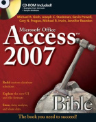 Access 2007 Bible [With CDROM]