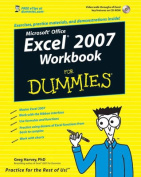 Excel 2007 Workbook for Dummies [With CDROM]