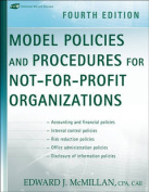Model Policies and Procedures for Not for Profit Organizations