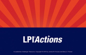 Leadership Practices Inventory (LPI) Action Cards (J-B Leadership Challenge