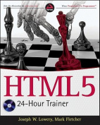 HTML5 24-Hour Trainer [With DVD]