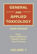 General and Applied Toxicology, 6 Volume Set
