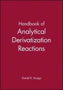 Handbook of Analytical Derivatization Reactions
