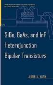 SiGe, GaAs and InP Heterojunction Bipolar Transistors